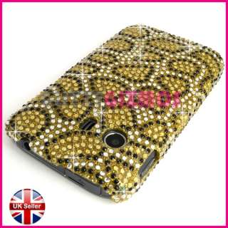 DIAMOND BLING GLITTER CRYSTAL GEM CASE COVER FOR SAMSUNG GALAXY Y