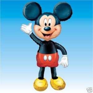 Disney MICKEY MOUSE Foil Supershape Airwalker Balloon