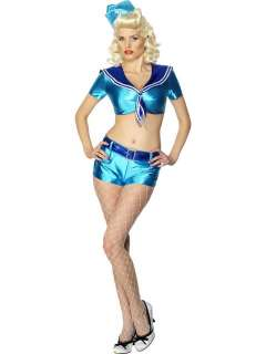Costume Carnevale Donna Pin Up anni 50 tg.M # 10295