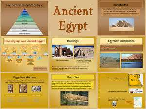 / EGYPTIANS Primary Interactive whiteboard teaching resources