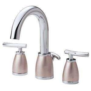 Danze Sonora Mini Widespread Lavatory Faucet D303354CSN Chrome/Satin