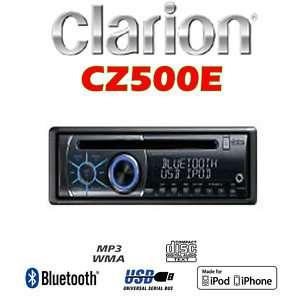 AUTORADIO CLARION CZ500E 1DIN Bluetooth USB/iPod iPhone