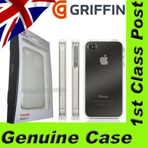 Genuine Griffin GB01768 FlexGrip Clear Skin Case Cover for Apple
