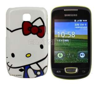 HELLO KITTY Hard Case For Samsung Galaxy Mini S5570