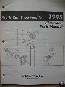 1995 Arctic Cat ( Wildcat Touring ) Parts Manual