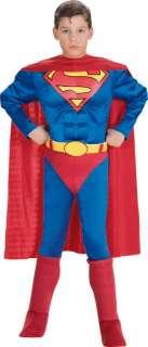 Costume Superman Bambino Deluxe Large 8  10 Anni 148 cm Blu