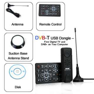 RICEVITORE USB DVB TV DIGITALE TERRESTRE PER PC DECODER