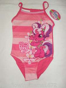 BNWT my little pony swimming costume.2 3,4 5,6 7yrs