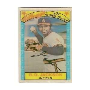 1979 Kelloggs #59A Ron Jackson: Everything Else