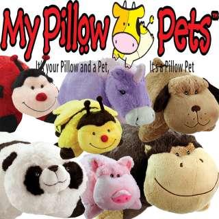 ORIGINAL OFFICIAL GENUINE PILLOW PETS PET SOFT PLUSH ANIMAL PILLOW
