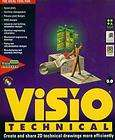 Visio 5.0 Technical PC CD mechanical drawings flow char