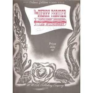 The Merry Farmer (Frohlicher Landmann) [Sheet Music] Piano Solo: Books