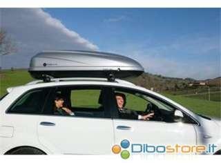 BOX TETTO MODULA TRAVEL TWIN 370 LT BAULE AUTO CON DOPPIA APERTURA