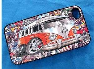 VW Split Screen Camper Van Splitty Koolart Sticker bomb i Phone iPhone