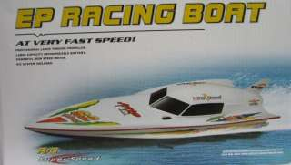 RC Stealth Speedboat Radio Controlled Boat EP Latest 2011 Model