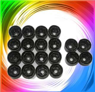 VW ALLOY WHEEL NUT BOLT COVERS CAPS Volkswagen Engraved 17mm * NEW