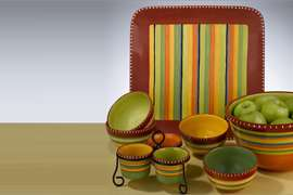 The Hot Tamale Collection from Certified International is designed by