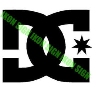 DC SHOES LOGO Vinyl Decal Sticker