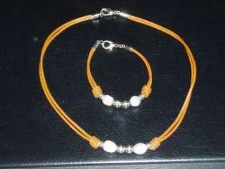 Collar y pulsera de perlas (8699897)    anuncios