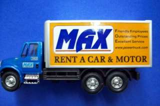 Diecast MAX Rent A Car Delivery Truck