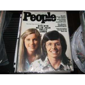People Weekly Magazine (Billie Jean King , Chris Evert