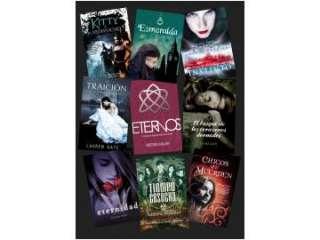 Oportunidad libros románticos, de vampiros, de amornuevos a buen