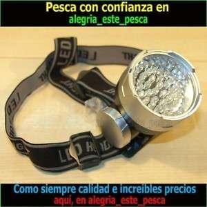 LINTERNA DE CABEZA 56 LED PARA PESCA, CAZA, BICICLETA