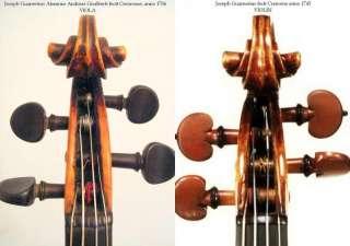 Very Fine Italian Violin by Joseph Guarneri del Gesu, 1718, Original