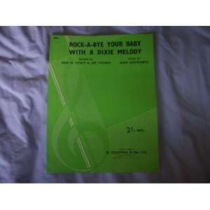 Sheet Music Score: Jean ; Lewis, Sam M ; Young, Joe Schwartz: Books