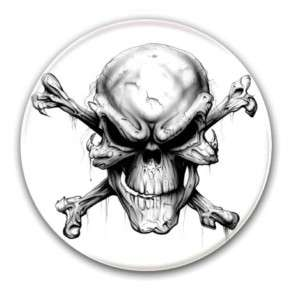 Badge SKULL Punk Rock Rockers Gothique Goth Emo