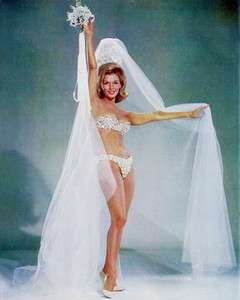 NANCY KOVACK BIKINI 8X10 PHOTO BIKINI PIN UP WEDDING