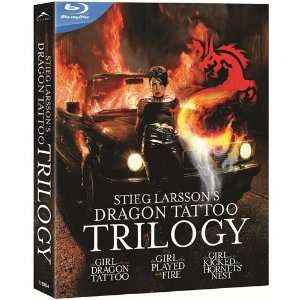Dragon Tattoo Trilogy (Blu ray) (English Dubbed Version): Noomi Rapace