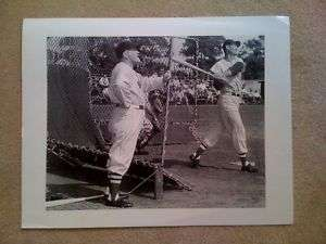 Ted Williams Type 1 First Generation 11X14 Photograph