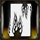 airbrush stencils flame