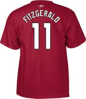 Larry Fitzgerald Reebok Name and Number Arizona Cardinals T Shirt