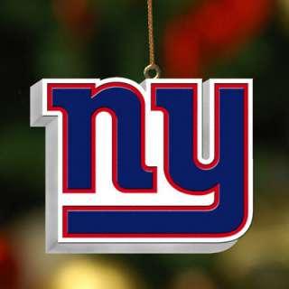 New York Giants Team Logo 3D Ornament