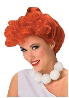 Flintstone Costumes Flintstone Accessories Deluxe Wilma Flintstone Wig