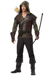 Historical Costumes Robin Hood Costumes Mens Robin Hood Costume