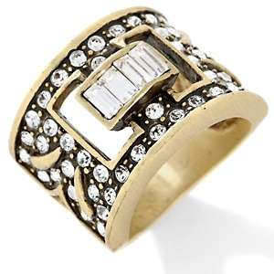Heidi Daus Eternal Beauty Crystal Accented Band Ring