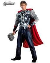Mens Classic Muscle Avengers Thor Costume