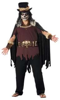 Plus Size Super Deluxe Witch Doctor Costume   Scary Halloween Costumes