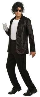 Michael Jackson Sequin Billie Jean Jacket Costume   Michael Jackson