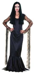 Morticia Costume Adult  Addams Family Morticia Halloween Costume