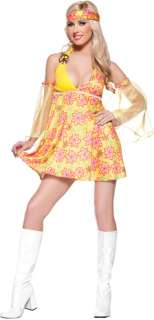 Its the dawning of the age of Aquarius Costume includes mini dress