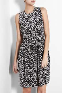 Phillip Lim  Blue Leopard Print Silk Dress by 3.1 Phillip Lim