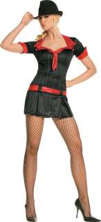 Adult Sexy Gorgeous Gangster Costume   1920s Costumes   15UA83183