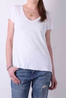 White Jacksonville Short Sleeve Top by American Vintage   White   Buy