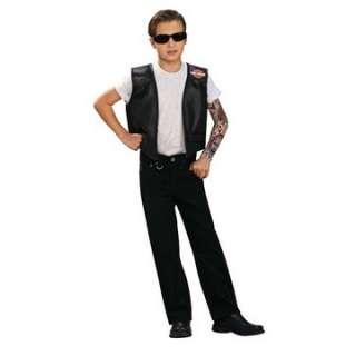 Child Harley Davidson Costume Vest   Motorcycle Costumes   15RU8632