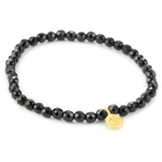 Thrive Onyx 24k Yellow Gold Plate Necklace, 18 Jewelry