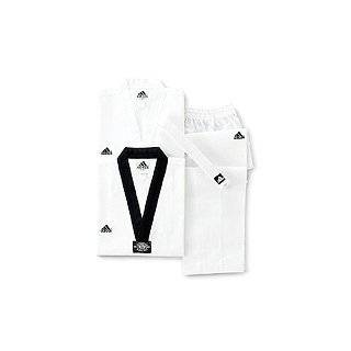 Adidas Champion II Taekwondo Dobok Uniform with Black V